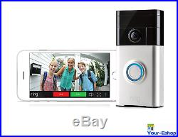 Ring Video Doorbell HD Wifi Enabled Door Bell Battery Operated Camera Security