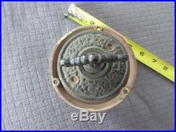Russell & Erwin MFG CO Victorian Mechanical Door Bell PAT. 1893 New Britan CT