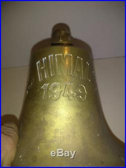 SS Himalaya 1949 Ship Bell Solid Brass