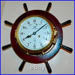 Schartz Royal Mariner 1881 Germany ship Bell clock