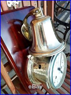 Schatz Royal Mariner 8 Bells Ships Clock And Bell With Ships Watch Striking