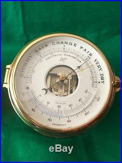 Schatz Royal Mariner Ship's Bell Clock (Quartz) and Barometer