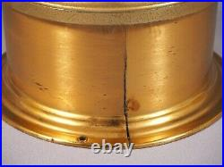 Schatz Royal Mariner Ships Bell 8 Day withKey Brass Made in Germany WORKS