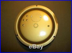 Schatz Small Ships Bell 8 Days-7 Jewels Brass Clock / Works Great Incl. Bells /