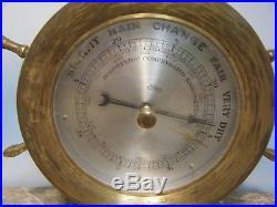 Schatz & Somne Barometer & Ships Bell Clock