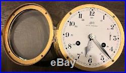 Schatz Vintage Royal Mariner 6 Bell 8 Ship Clock and Barometer