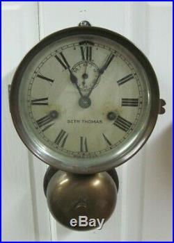 Seth Thomas Maritime Ships Clocks With External Bell