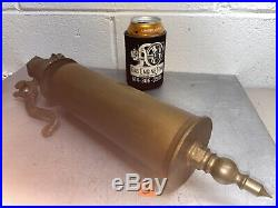 Single Chime BRASS Whistle Valve Antique Steam Air Hit Miss Bell Steampunk