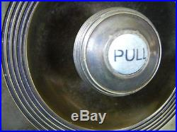 Solid Brass Claverley Bell Pull and Servants Bell Traditional Antique Style