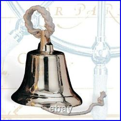 Solid Brass Heavy Ship's Bell, 14