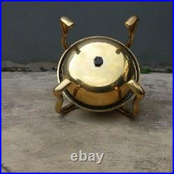 Stand Sweet Chimes Toned horse carriage brass bell