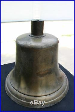 Steam Locomotive BRASS Bell Railroad Train Engine Bell Bronze Antique Vintage