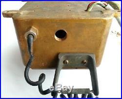 Stromberg-Carlson Brass Sound Powered Telephone Navy Ship 6 Bell Antique