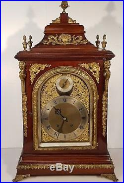 Stunning Large Boardroom 4 bells musical Bracket Clock