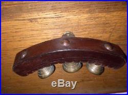 Stunning Victorian Solid Brass Harness Sleigh/coach Bells. Belfry