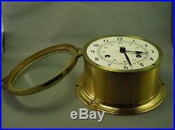 Swift Schatz West Germany Maritime Ships Bell Clock