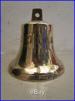 USSR Vintage 1971 RUSSIAN Marine Brass BELL SHIP'S 100% ORIGINAL (594)