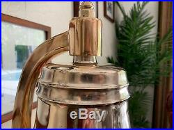 US Navy Ships Bell Brass Bronze USN Pre WWII United States Nautical Boat Bands