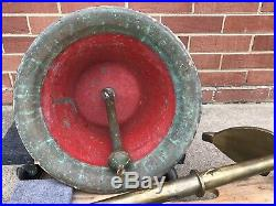 US Navy brass bell and WILD Minesweeper anchor