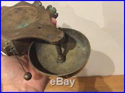 VINTAGE Electric Brass Butler / Door Bell Ship Worldwide