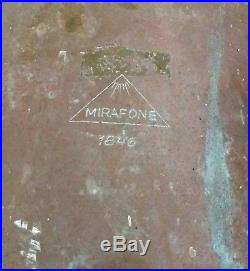 VTG Antique Mirafone 1846 Tuba 15 Bell 36 Great Patina For Restoration Repair