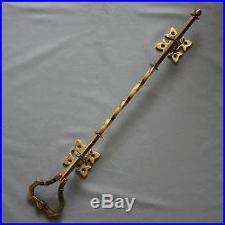 Victorian Inspired Brass Lichfield Bell Pull