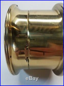 Vintage Airguide Ship's Bell Clock WORKING