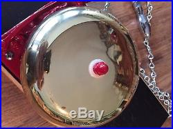 Vintage Antique Boxing Bell Reiter 65F All Brass Restored