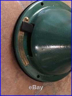 Vintage / Antique GE 16 Brass Blade Brass Bell Fan