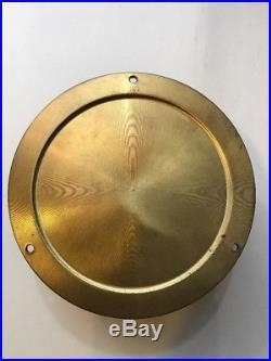 Vintage Boston Chelsea Clock USA Brass Ships Bell Clock, 5.75
