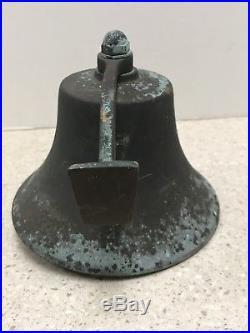 Vintage Bronze/Brass U. S. Navy Ship Bell WWII Loeffler Penndell Pa