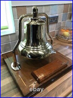 Vintage Cast Bronze/Brass Ships/Fire Bell Maritime Marine Boat Yacht Mancave