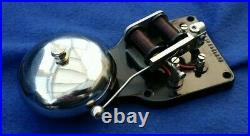 Vintage Gec Bakelite Brass Door Butler Bell Transformer Push Button