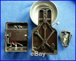 Vintage Gec Electric Bakelite Brass Bell Transformer Door Butler Shop Bell Push