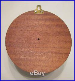 Vintage German Schatz Royal Mariner Brass Ship Clock 8 Day Ships Bell Germany Nr