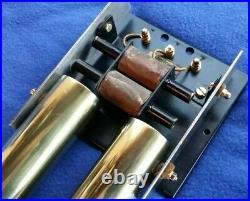 Vintage Montrose Door Bell Chime Brass Tubes Nos Friedland Bakelite Transformer