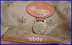 Vintage Mulberry Shoulder Bag In Antique Oak