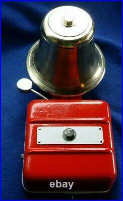 Vintage Old Industrial Gent Electric Doorbell Fire Alarm Butler Retro House Bell