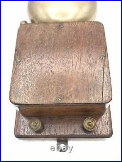 Vintage Original Electric DoorBell Large Brass Bell Working Condition 1930s