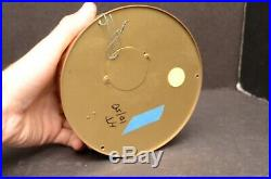 Vintage STOCKBURGER SHIP'S BELL CLOCK GERMAN BRASS PORTHOLE CASE Parts repair