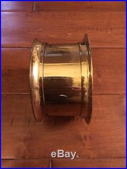 Vintage Seth Thomas Corsair E537-000 Maritime Ships Bell Brass Clock