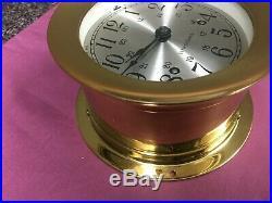 Vintage Seth Thomas Corsair Ship Bell Nautical clock E537-000 cat1004