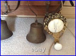 Vintage butter bells with its ringer