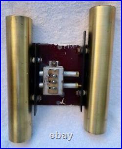 Vtg. Rittenhouse Dorset MID Century Modern Door Bell Chime N. Bell Geddes