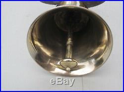 Wonderful Victorian Brass Servants Bell. Circa. 1880